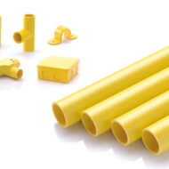 ท่อและอุปกรณ์PVCเหลือง